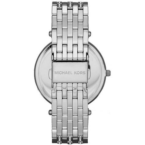 Michael Kors Ladies' Darci Glitz Stainless Steel Bracelet Designer Watch MK3218 Thumbnail 4