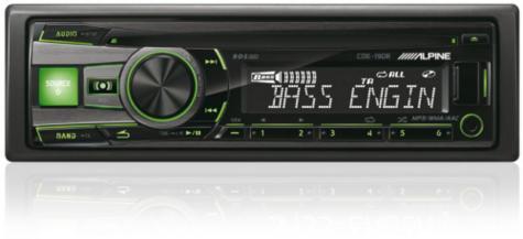 Genuine Alpine CDE 190R Car Media Receiver autoradio CD/USB 2 rca out-display  Thumbnail 6