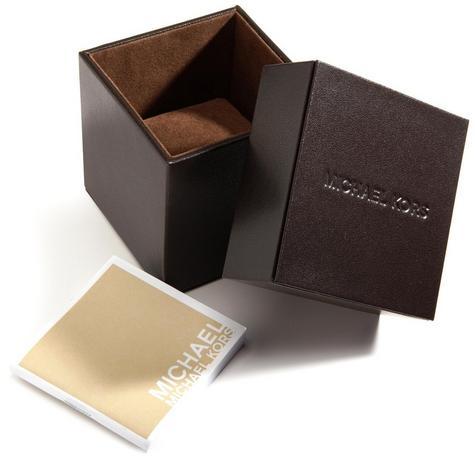 Michael Kors Ladies' Pavé-Embellished Gold-Tone Ultra-Slim Runway Designer Watch Thumbnail 7