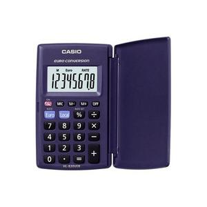 Casio HL-820VER Compact Battery Operated Currency Converter Pocket Calculator Thumbnail 1