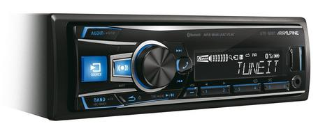 Alpine Car Digital Media Receiver?Mechless Radio?USB?Bluetooth?iPod-iPhone-Andro Thumbnail 5