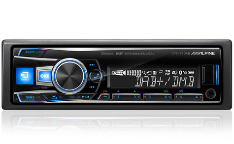 Alpine UTE 93DAB Digital Car Media Receiver Mechless Usb DAB+Bluetooth Front Aux Thumbnail 2