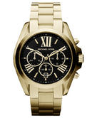 Michael Kors Women's Gold-Toned 'Bradshaw' Chronograph Bracelet Ladies Watch