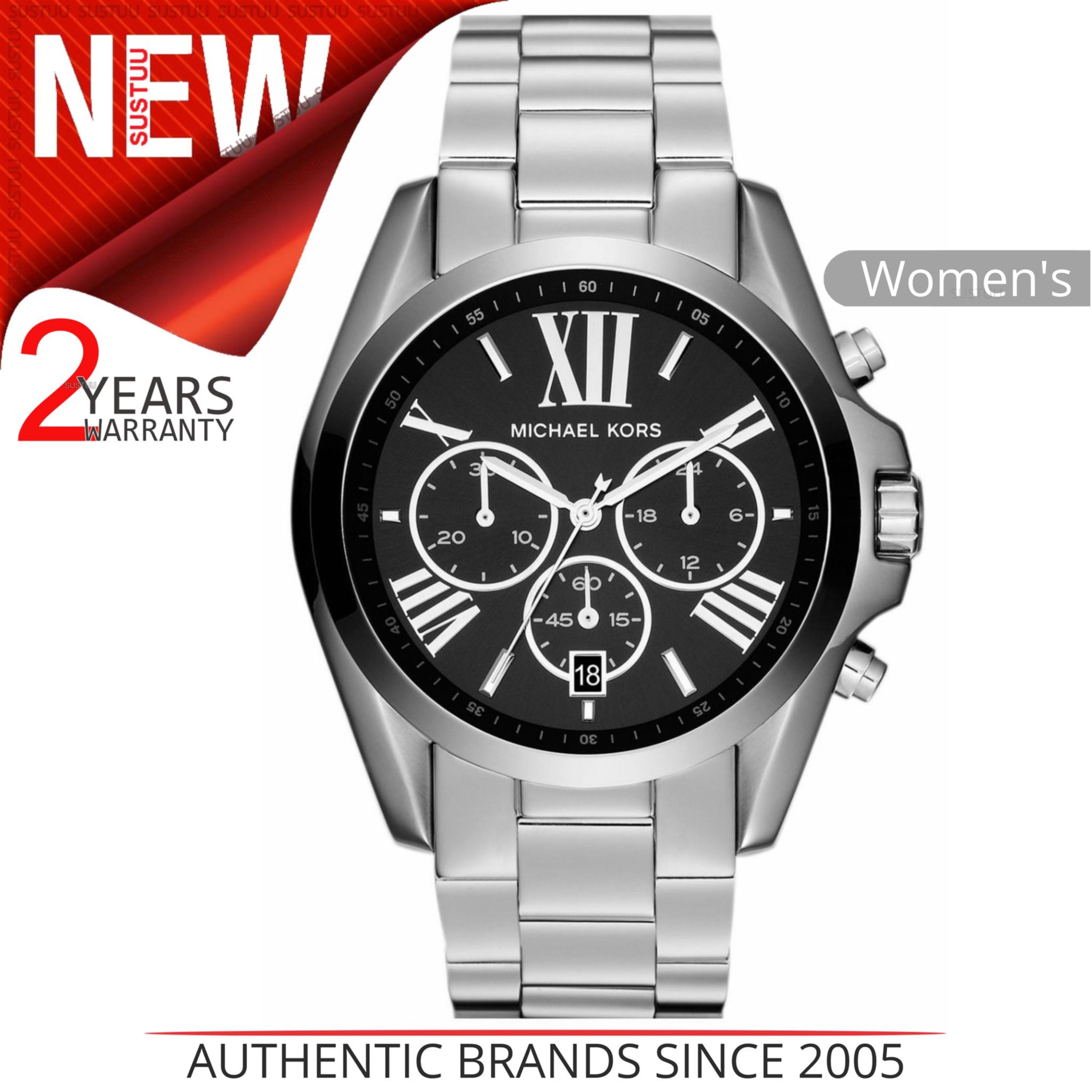 a8984cc8a4 SENTINEL Michael Kors Bradshaw Ladies Watch MK5705│Black Chronograph  Dial│Bracelet Band