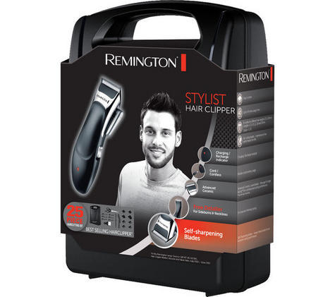 Remington HC366 Mens's Cordless Stylist Hair 25 Piece Clipper Shaver Kit Set  Thumbnail 4