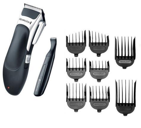 Remington HC366 Mens's Cordless Stylist Hair 25 Piece Clipper Shaver Kit Set  Thumbnail 2