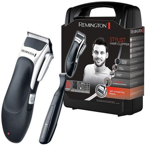 Remington HC366 Mens's Cordless Stylist Hair 25 Piece Clipper Shaver Kit Set  Thumbnail 8