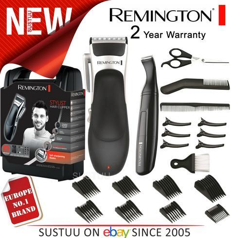 Remington HC366 Mens's Cordless Stylist Hair 25 Piece Clipper Shaver Kit Set  Thumbnail 1