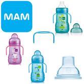 Mam Baby Formula Feeding Trainer Spill-proof Non-Slip Bottle  220ml BPA Free 4+