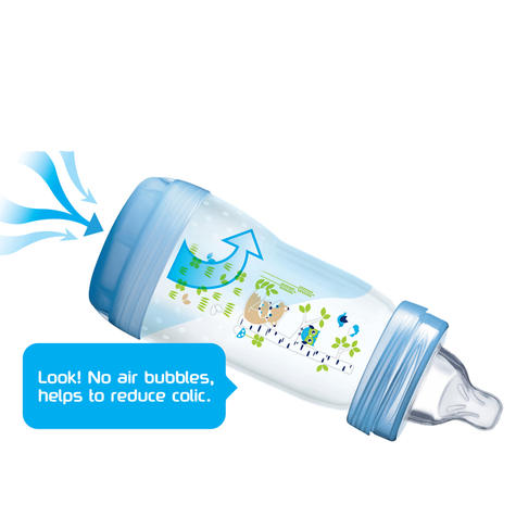 Mam Baby Formula Feeding Self Sterilising Anti-Colic Infant Bottle 260ml 3 Pack  Thumbnail 4
