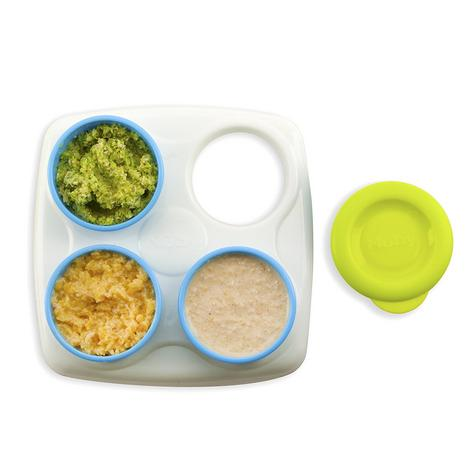Nuby Garden Fresh Freezer Pots?Baby Food & Snack Storage with Lids Container?4m+ Thumbnail 4