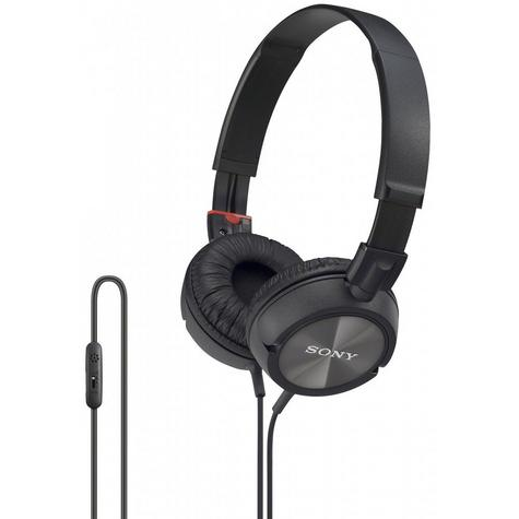 SONY Stereo Headset With Remote Control For Android Apple & All Smartphoes Calls Thumbnail 1