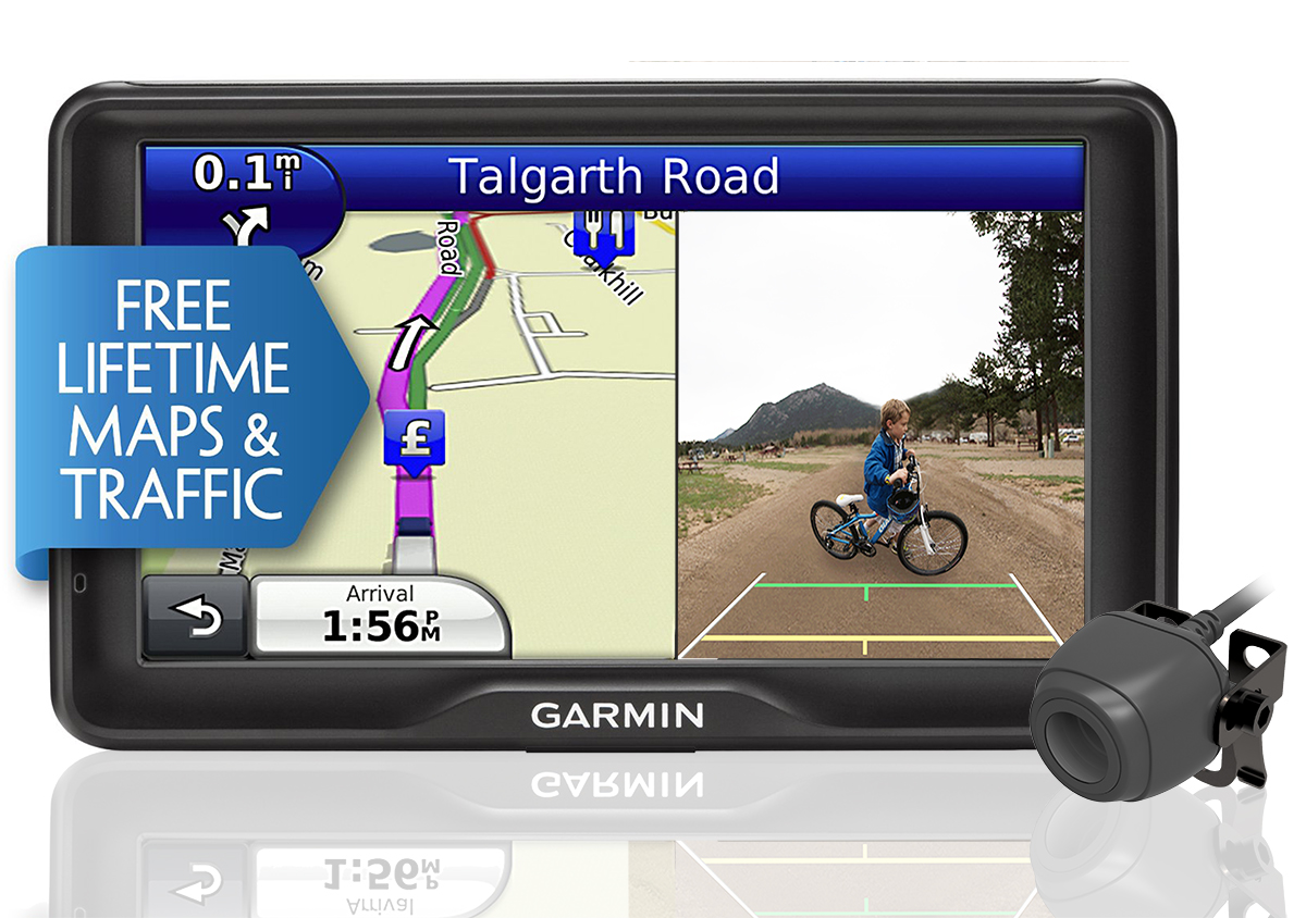 Garmin Dezl Lmt Truck Gps Satnav Europe Maps Bc Reversing Camera Bundle