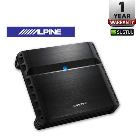 Alpine PMX F640 4-Channel Amplifier 640W   Bass EQ PWM Crossover DC DC SLI  NEW Thumbnail 1