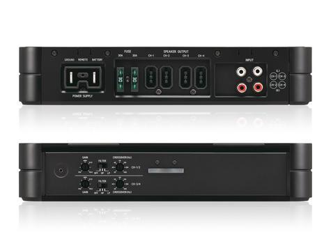 Alpine PDX F4 High Grade 4/3/2 Channel  PowerDensity Digital Car Amplifie - NEW Thumbnail 3