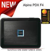 Alpine PDX F4 High Grade 4/3/2 Channel  PowerDensity Digital Car Amplifie - NEW