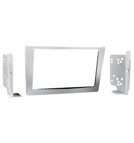 C2 23VX22 Car Stereo Double Din Fascia Plate Adaptor  Vauxhall Silver Astra H 20 Thumbnail 1