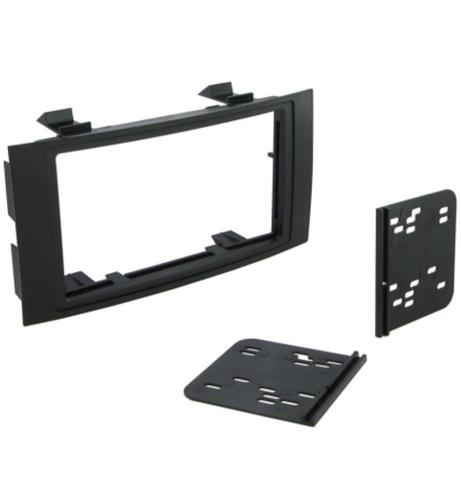 C2 23VW05 Car Stereo Double Din Fascia Plate Adaptor For VW	Touareg		2003-2010 Thumbnail 1