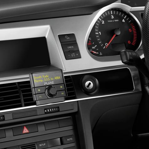 Pure Highway 300DI Add on DAB In Car Digital Radio | Aux | USB | Fits iPod-iPhone-iPad Thumbnail 2