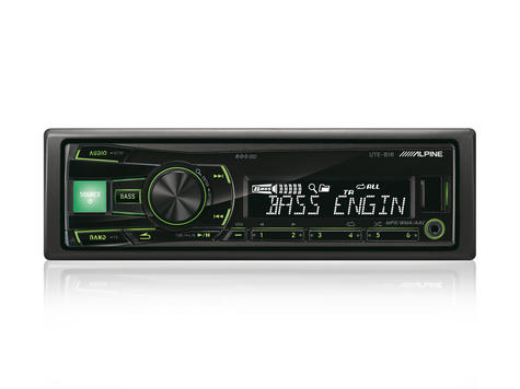 Alpine UTE 81R?In Car Stereo-Digital Media Receiver?1DIN?RDS?USB?Aux?Illuminatio Thumbnail 2