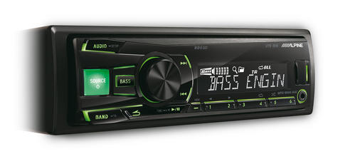 Alpine UTE 81R?In Car Stereo-Digital Media Receiver?1DIN?RDS?USB?Aux?Illuminatio Thumbnail 3