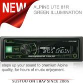 Alpine UTE 81R?In Car Stereo-Digital Media Receiver?1DIN?RDS?USB?Aux?Illuminatio