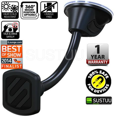 Scosche Universal Magnetic Mount?Magic Window CarHolder?Mobile Phones/Tablet/GPS Thumbnail 5