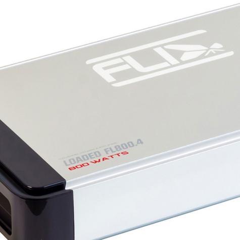 Fli FL800.4-F1 400W RMS 800 Watts Peak Power 4 Channel Stereo Car Amplifier -NEW Thumbnail 1