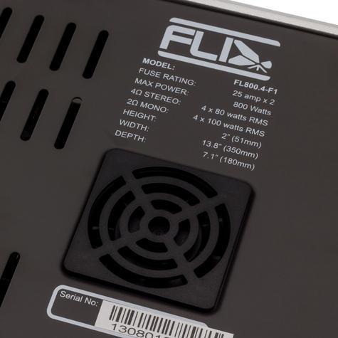 Fli FL800.4-F1 400W RMS 800 Watts Peak Power 4 Channel Stereo Car Amplifier -NEW Thumbnail 4