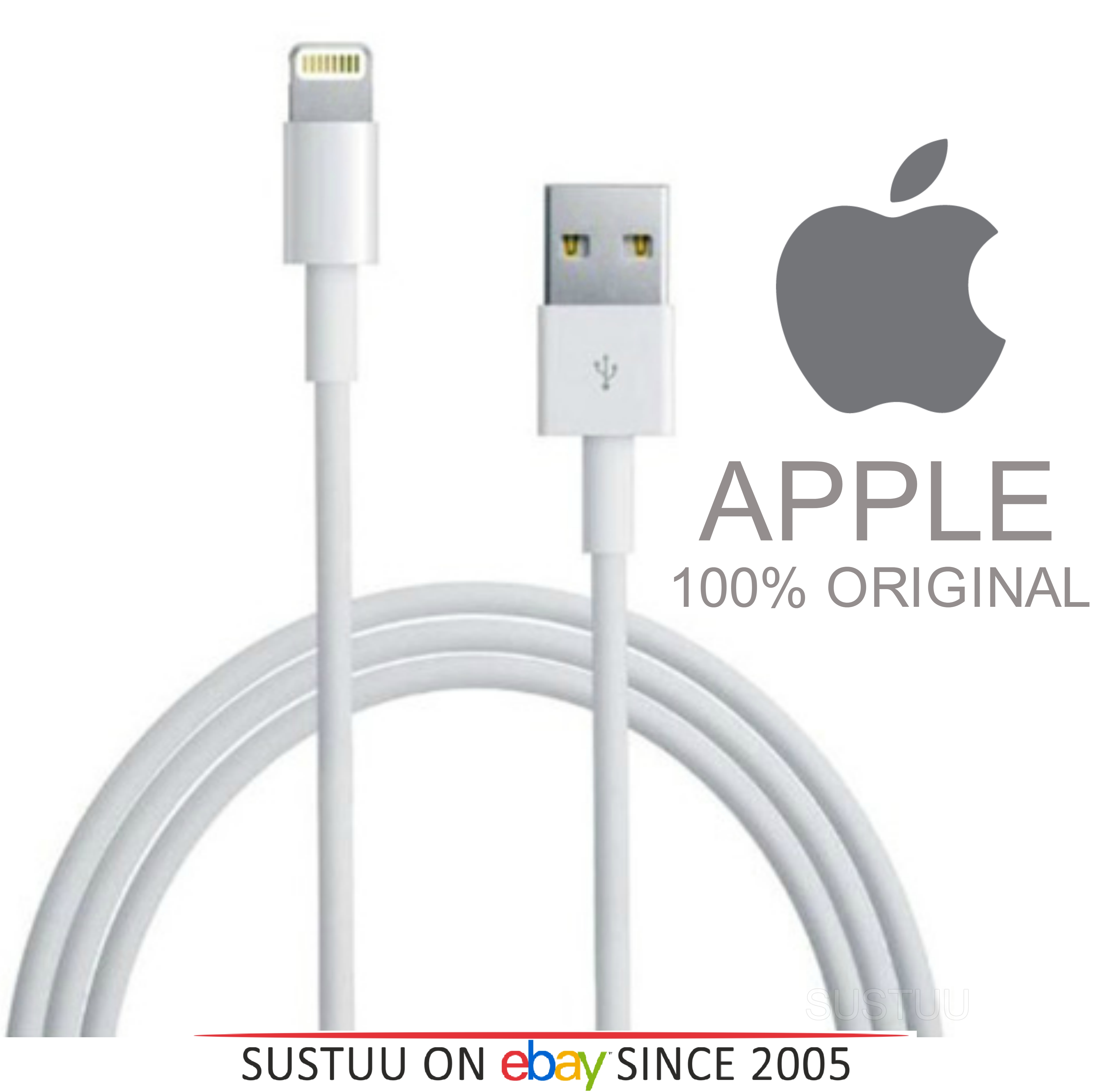 iphone 5 lightning cable 6s plus 100 original apple lightning to usb cable 14538