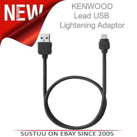 Kenwood KCA IP103 Lead USB Lightening Adaptor|For iPhone 5/5C/5S|For KCA HD100  Thumbnail 1