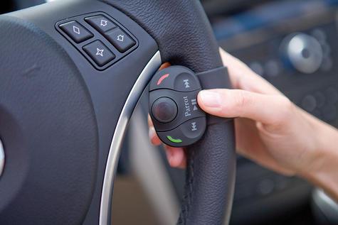 Parrot MKi9000 MK2|Bluetooth Handsfree Car Kit - Dual Mic|Fits iPod-iPad-Android Thumbnail 3