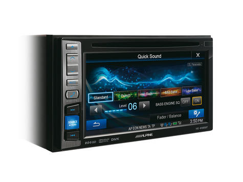 "Alpine IVE W585BT 6.1"" Touch Radio CD/DVD/DIVX/MP3 Double Din Stereo Bluetooth Thumbnail 3"