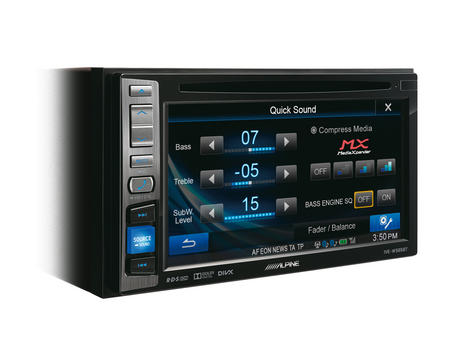 "Alpine IVE W585BT 6.1"" Touch Radio CD/DVD/DIVX/MP3 Double Din Stereo Bluetooth Thumbnail 4"