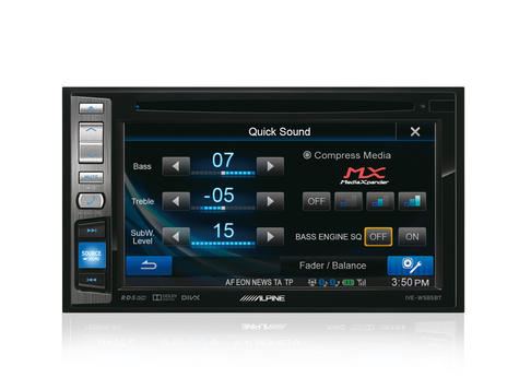 "Alpine IVE W585BT 6.1"" Touch Radio CD/DVD/DIVX/MP3 Double Din Stereo Bluetooth Thumbnail 5"