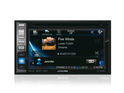 "Alpine IVE W585BT 6.1"" Touch Radio CD/DVD/DIVX/MP3 Double Din Stereo Bluetooth Thumbnail 6"