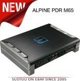 Alpine PDR M65 Mono Subwoofer Digital Amplifier - 650 Watts 1 Channel Class-D