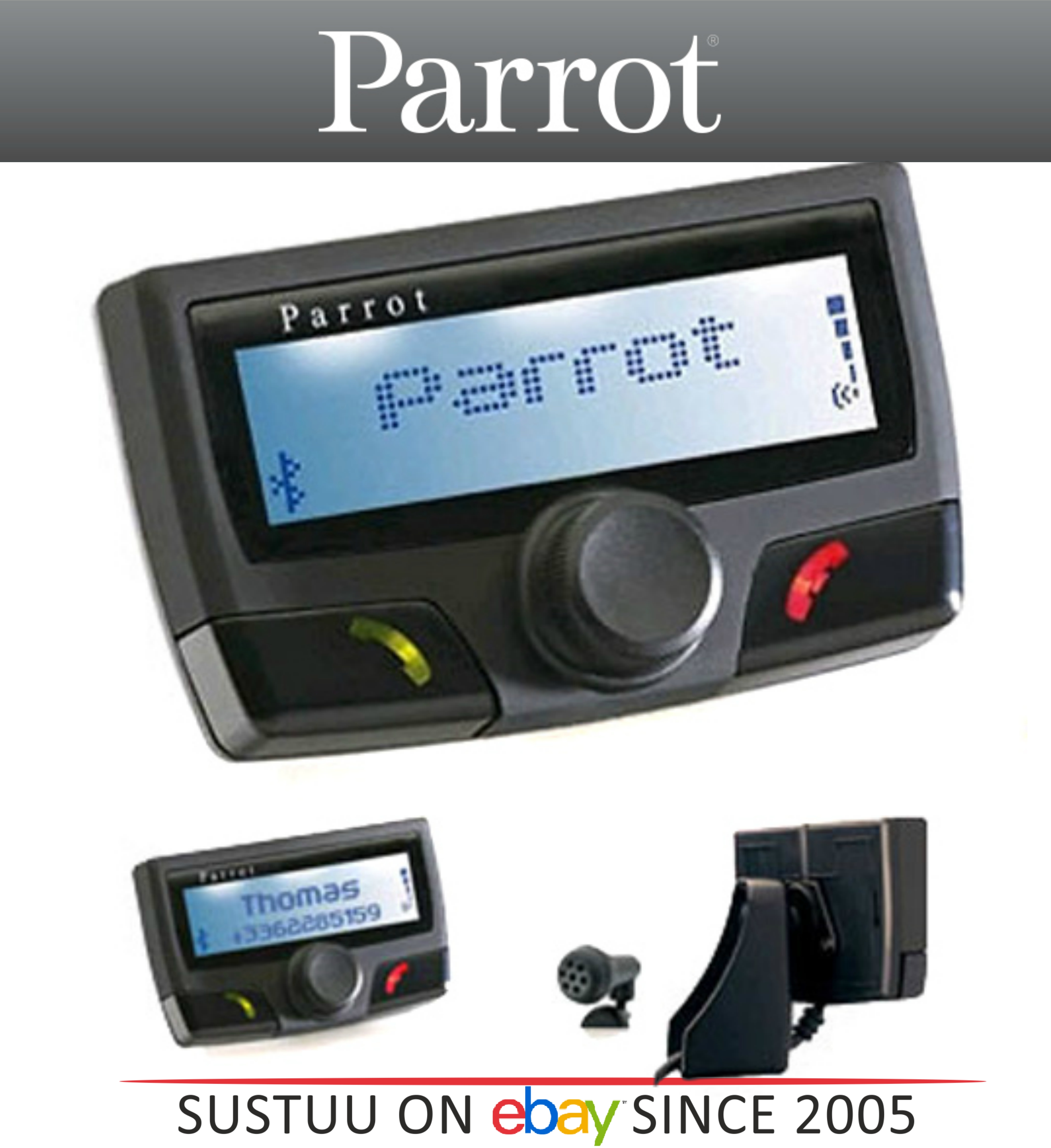 Parrot CK3100 24V Bluetooth Handsfree Car Kit│For Trucks-Lorries ...