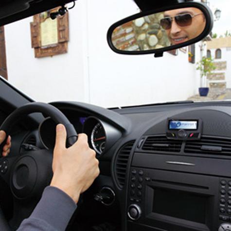 Parrot CK3100 24V Bluetooth Handsfree Car Kit | For Trucks-Lorries-Van | LCD Display Thumbnail 2