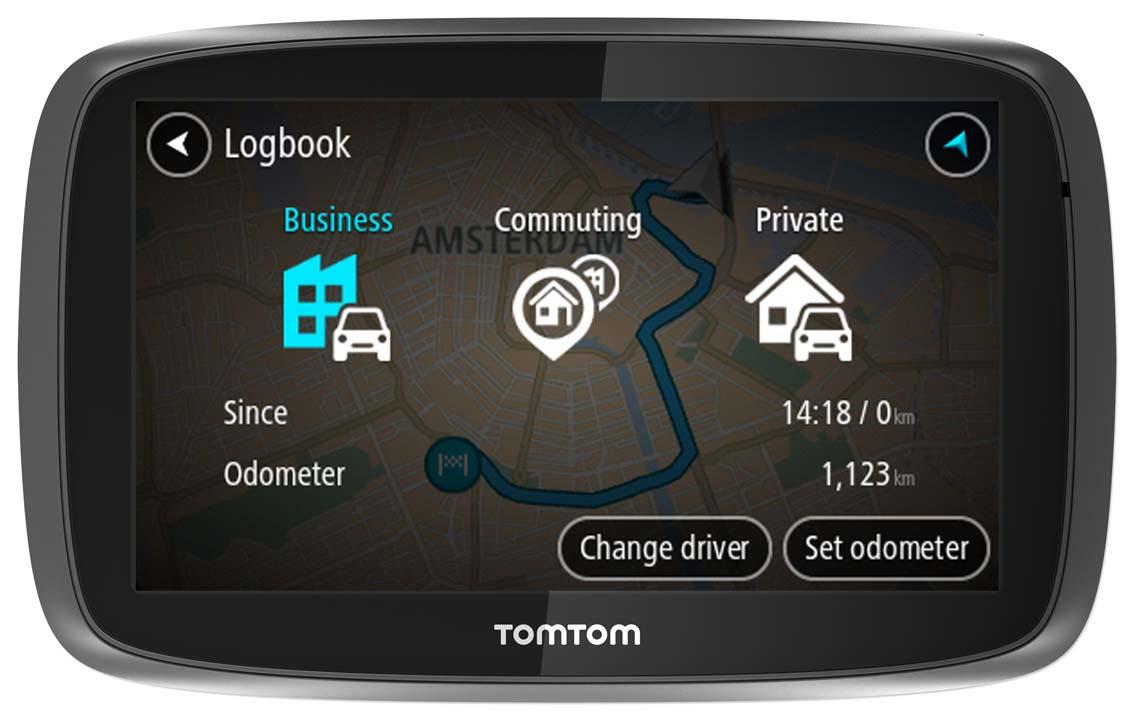 Tomtom Pro 5250 Truck Hgv Gps Satnav Free Lifetime Western