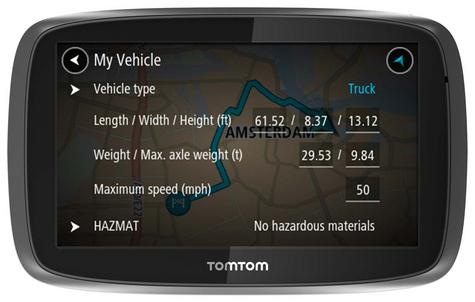 TomTom Pro 5250?Truck HGV GPS SatNav?FREE LifeTime Western EU Map+Traffic Update Thumbnail 5