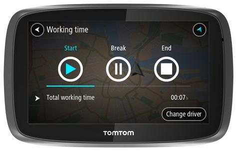 TomTom Pro 5250?Truck HGV GPS SatNav?FREE LifeTime Western EU Map+Traffic Update Thumbnail 6