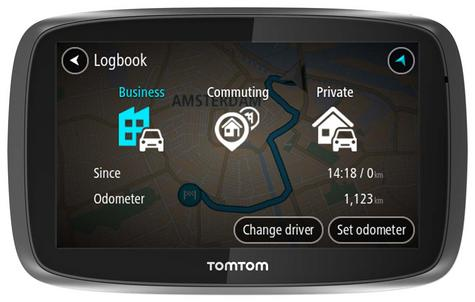 TomTom Pro 5250?Truck HGV GPS SatNav?FREE LifeTime Western EU Map+Traffic Update Thumbnail 8