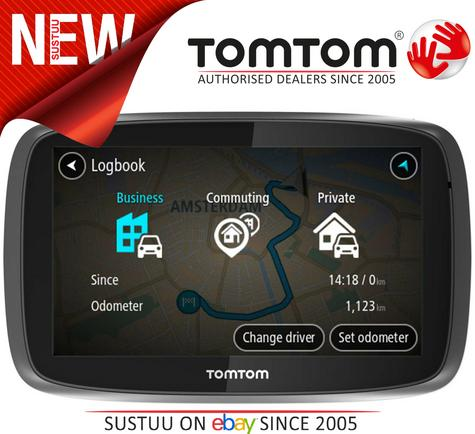 TomTom Pro 5250?Truck HGV GPS SatNav?FREE LifeTime Western EU Map+Traffic Update Thumbnail 1