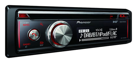 Pioneer DEH X8700DAB In Car stereo|DAB+|CD|USB|Aux|Bluetooth|iPod-iPhone-Android Thumbnail 2