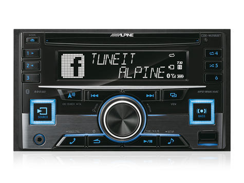 Alpine In Car Stereo-CD Receiver?2DIN?RDS?Bluetooth?USB?Aux?iPod-iPhone-Android Thumbnail 3