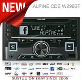 Alpine CDE W296BT Car Stereo-CD Receiver?RDS?Bluetooth?USB?Aux?iPod-iPhone-Andro
