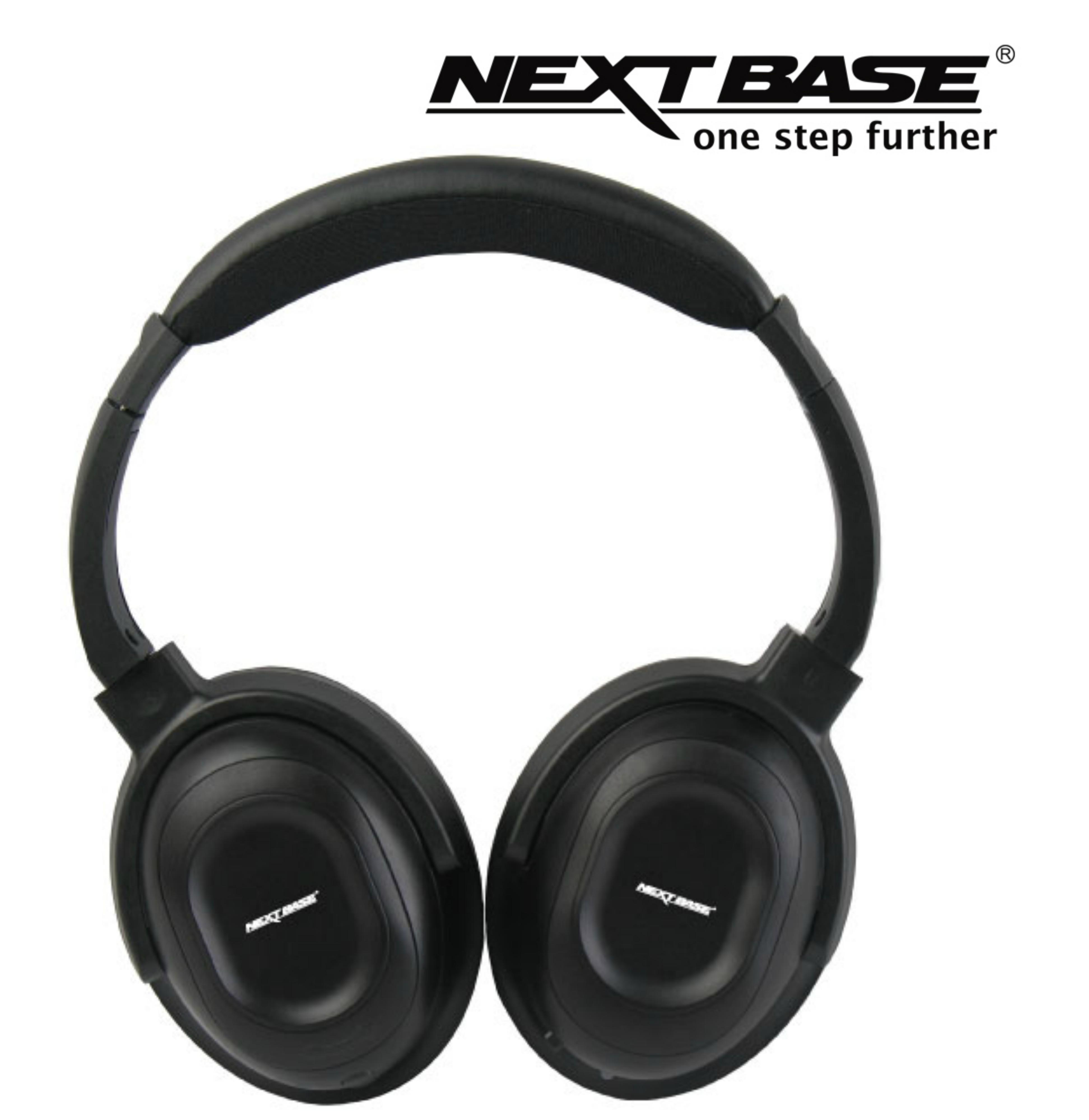 Nextbase Click & Go Series Wireless Headphones Black - NBCARHP