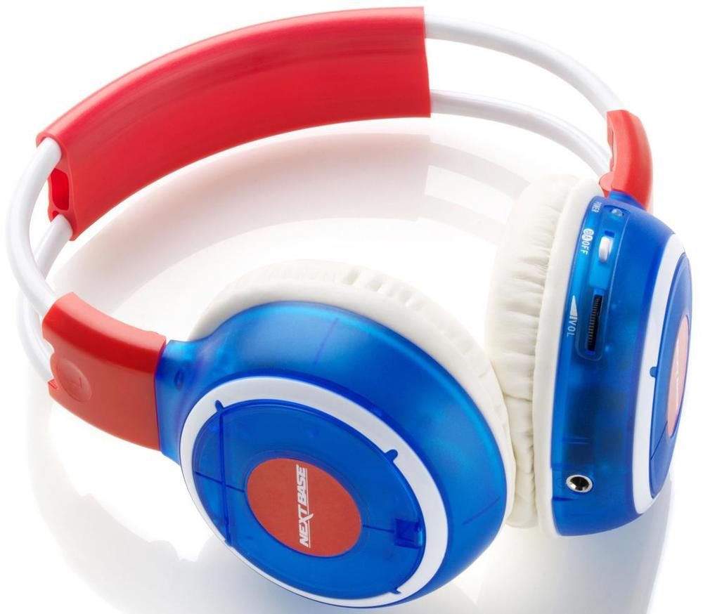 Nextbase Click & Go Series Dual Channel Wireless Infra-red Coloured Headphones