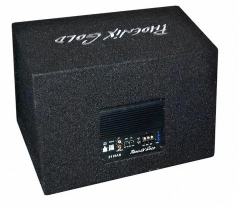 """Phoenix Gold Z112AB 12"""" Active Subwoofer 320Watts With Remote Bass Controller Thumbnail 2"""